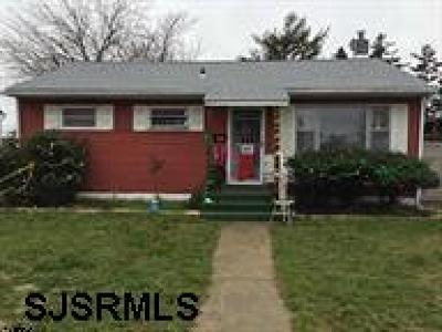 Atlantic City Single Family Home For Sale: 1126 Indiana