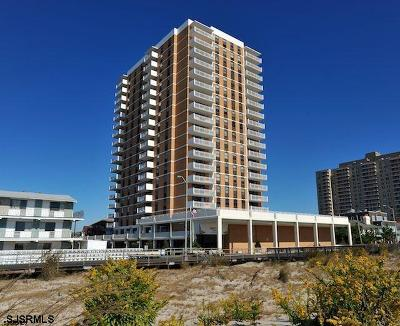 Ventnor Condo/Townhouse For Sale: 5200 Boardwalk #5 A