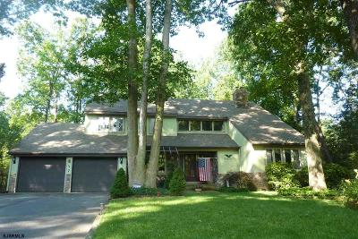 Upper Deerfield Township Single Family Home For Sale: 77 Colonial Terrace