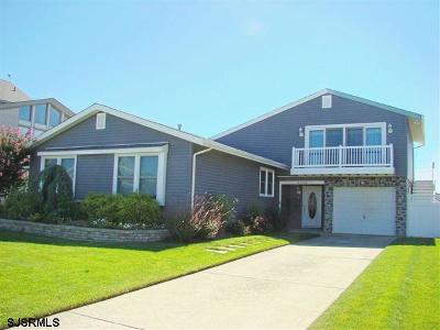 Brigantine Single Family Home For Sale: 5206 Ocean Dr S Dr
