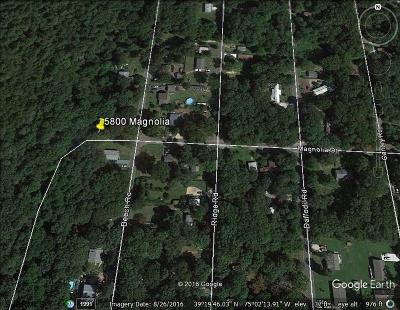 Millville Residential Lots & Land For Sale: 5800 Magnolia Rd