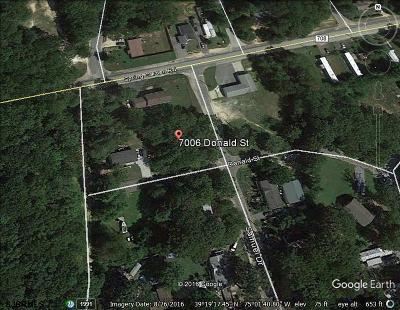 Millville Residential Lots & Land For Sale: 7006 Donald St