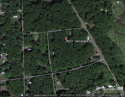 Millville Residential Lots & Land For Sale: 8031 Tamarack Rd
