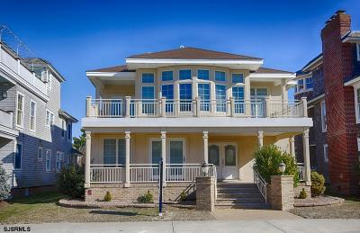 Longport Single Family Home For Sale: 107 S 11th