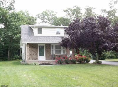 Upper Deerfield Township Single Family Home For Sale: 14 Horton