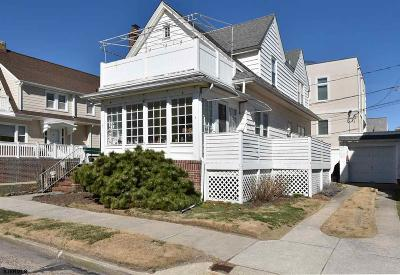 Ventnor NJ Single Family Home For Sale: $699,000