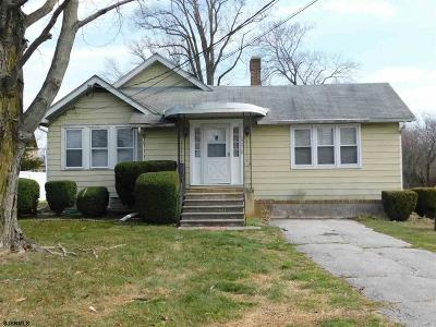 Vineland Single Family Home For Sale: 2807 S Main Road