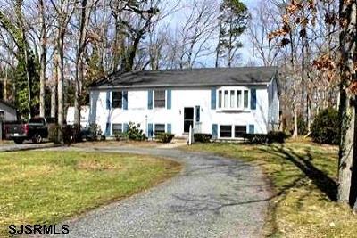 Vineland Single Family Home For Sale: 2389 Brookfield Street