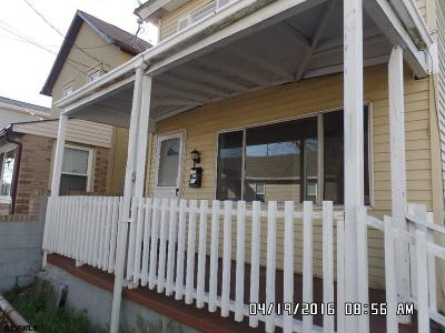Atlantic City Single Family Home For Sale: 1722 Logan Ave