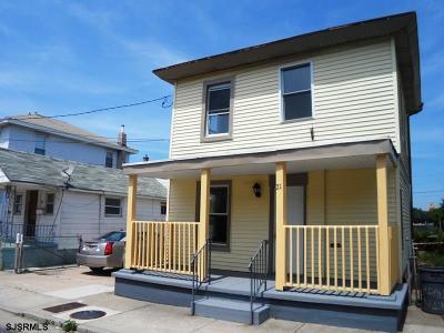 Atlantic City Single Family Home Back On Market: 21 S Trenton Terrace