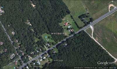 Millville Residential Lots & Land For Sale: 2416 Cedar St
