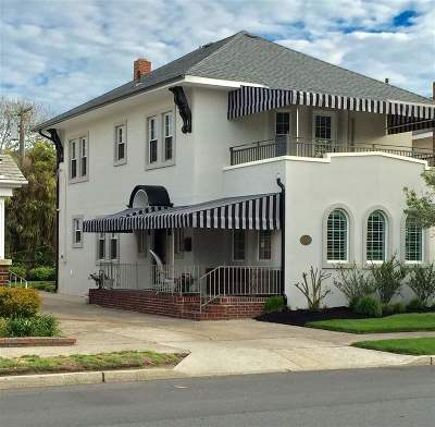 Margate NJ Single Family Home For Sale: $749,000