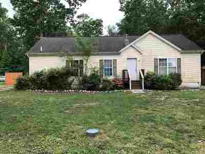 Vineland Single Family Home For Sale: 1029 Hamilton Dr