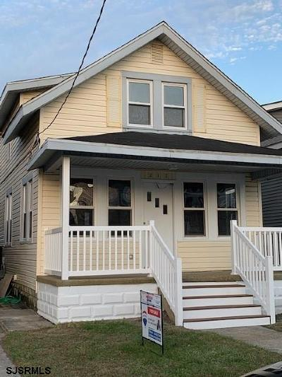 Ventnor Heights Single Family Home For Sale: 217 N Somerset Ave