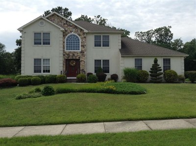 Vineland Single Family Home Undercontract-Cont Toshow: 1868 Whispering Woods Way