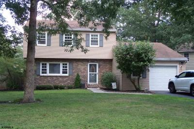 Millville Single Family Home For Sale: 2226 Wedgewood Ct