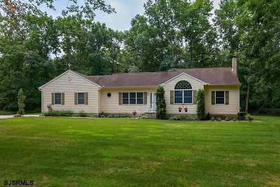 Upper Deerfield Township Single Family Home For Sale: 26 Weber Road