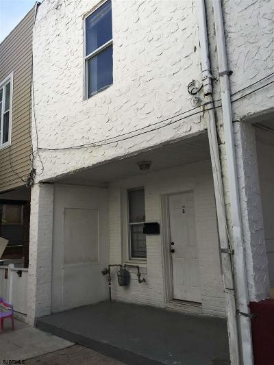 Atlantic City Single Family Home For Sale: 3 Stanley