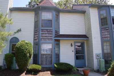 Egg Harbor Township, Northfield Condo/Townhouse For Sale: 48 Cambridge Condo #48