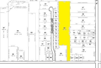 Vineland Residential Lots & Land For Sale: 1038 W Wheat Rd