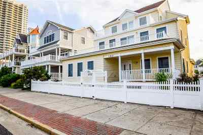 Atlantic City Single Family Home For Sale: 190 N Maine