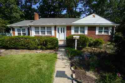 Millville Single Family Home For Sale: 906 F Street