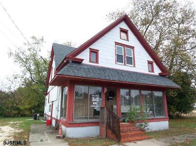 Millville Commercial For Sale: 1414 E Buckshutem