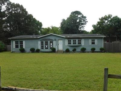Millville Single Family Home For Sale: 133 Main