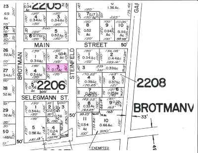 Pittsgrove Township Residential Lots & Land For Sale: 21 Steinfeld Ave Ave