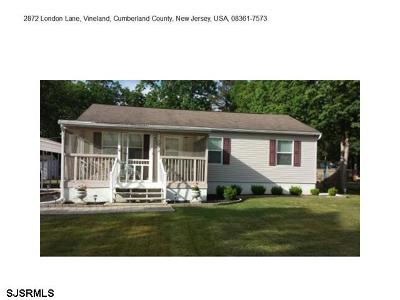 Vineland Single Family Home For Sale