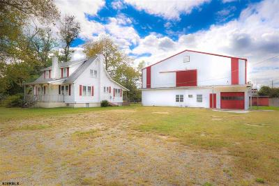 Pittsgrove Township Single Family Home For Sale: 1109-1111 Alvine Road