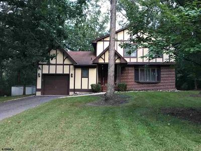 Vineland Single Family Home For Sale: 1445 Linden Blvd