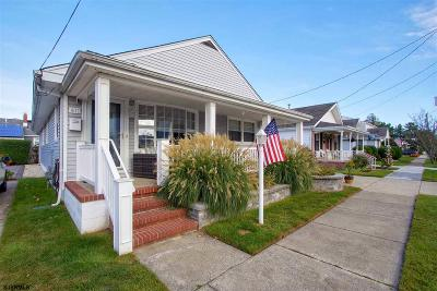 Margate Single Family Home For Sale: 411 N Rumson