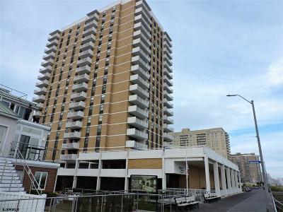 Ventnor Condo/Townhouse For Sale: 5200 Boardwalk #5 F