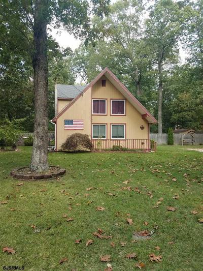 Vineland Single Family Home For Sale: 1160 Regina Elena Ave