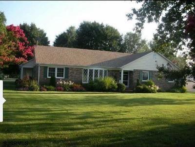 Vineland Single Family Home For Sale: 1683 E Chestnut Ave