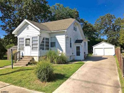 Millville Single Family Home For Sale: 102 S 10th Street
