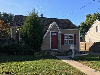 Vineland Single Family Home For Sale: 63 W Montrose Street