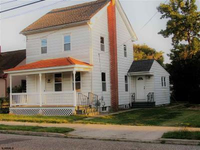 Millville Single Family Home For Sale: 19 W McNeal Street