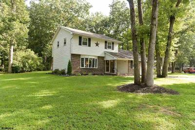 Vineland Single Family Home For Sale: 3244 Swan Dr