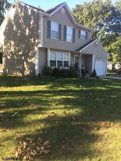 Millville Single Family Home For Sale: 16 Emily