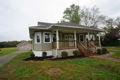 Millville Single Family Home For Sale: 2042 W Main St Street