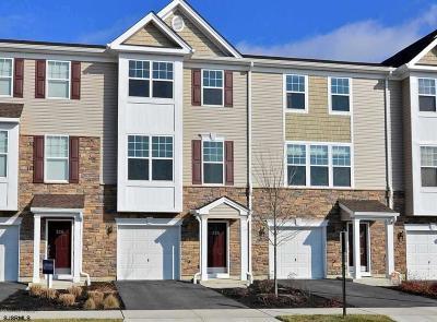 Egg Harbor Township, Northfield Condo/Townhouse For Sale: 256 Mallard Ln #256