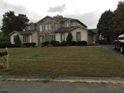 Vineland Single Family Home For Sale: 2354 Conley Dr