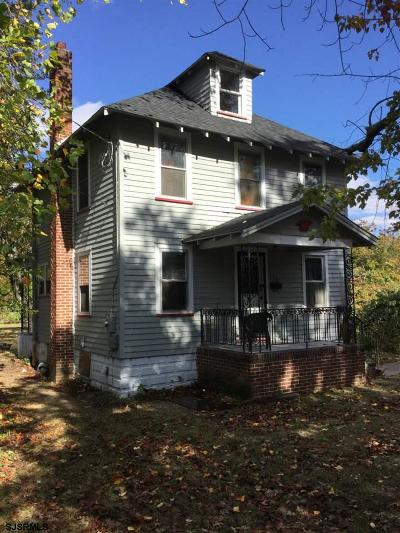 Millville Single Family Home For Sale: 320 Maple Street