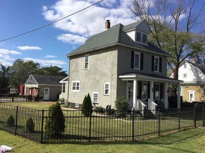 Millville Single Family Home For Sale: 912 S 2nd St Street