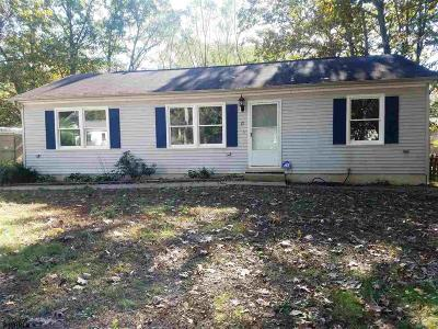 Millville Single Family Home For Sale: 17 Willow Road