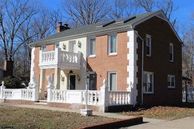 Vineland Single Family Home For Sale: 1908 Roosevelt Blvd Blvd