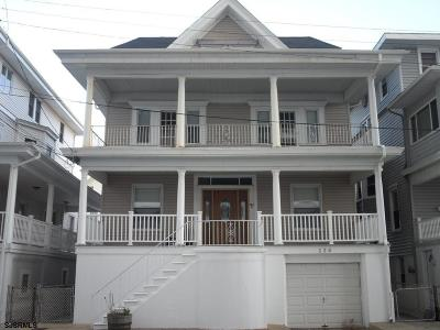 Atlantic City, Longport, Longport Borough, Margate, Ventnor, Ventnor Heights Rental For Rent: 123 S Berkley Sq Square