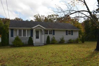 Vineland Single Family Home For Sale: 5489 Ascher Rd Road